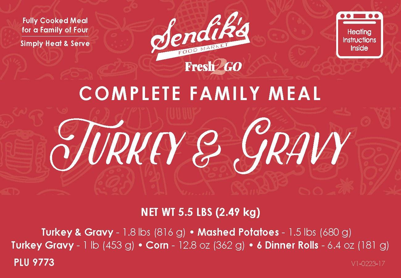 Turkey & Gravy