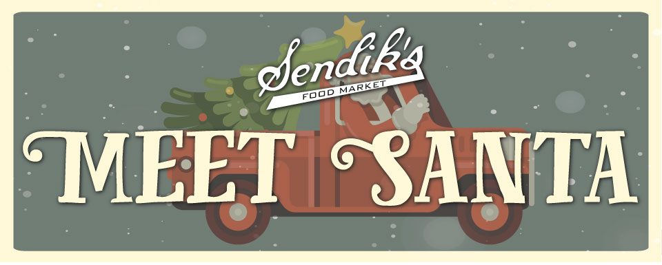 Meet Santa at Sendik's