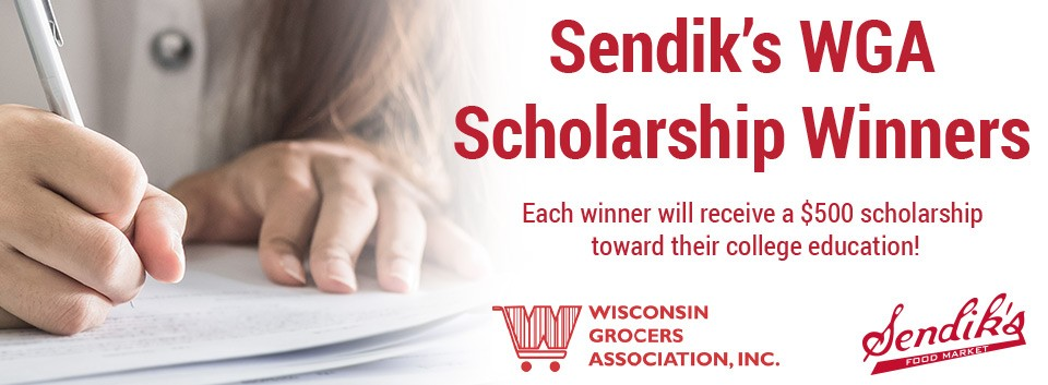2017 Wisconsin Grocers Association Scholarship Winners