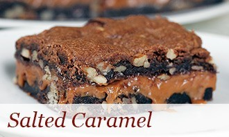 Sendik's Salted Caramel Wicked Brownies