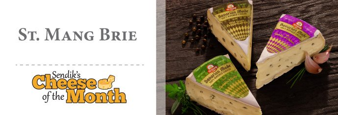 October Cheese of the Month - St. Mang Brie
