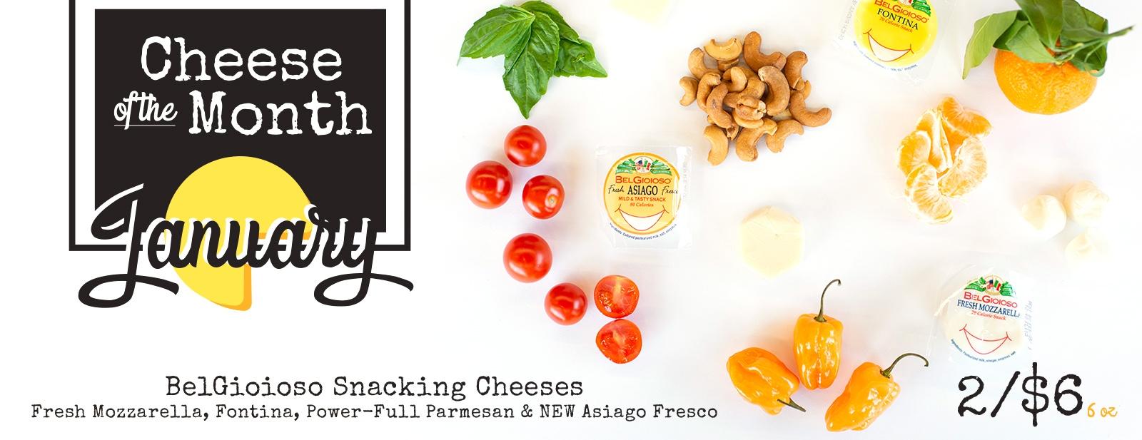 BelGioioso Snacking Cheese 2/$6 6 oz