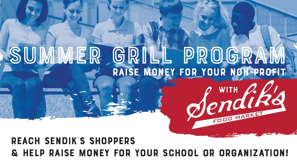 Summer Grill Program: Raise money for your non-profit with Sendik's
