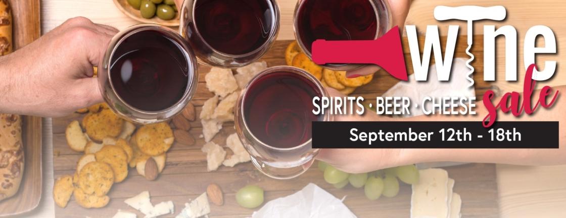 wine and spirits sale