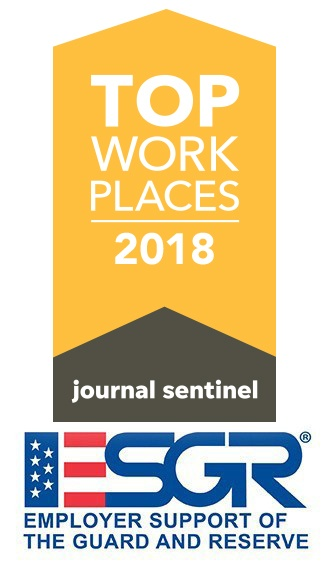 2018 Top Workplaces and Benefit Award