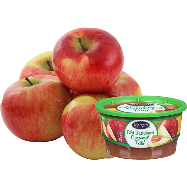 2 Lb Apples and Marzetti Old Fashioned Caramel Dip