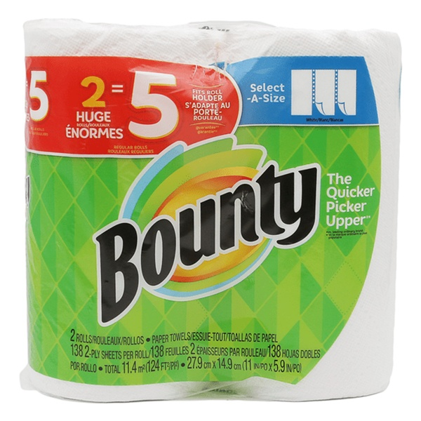 Bounty 2 Roll Paper Towel