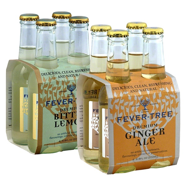 Fever Tree Mixers 4 pack