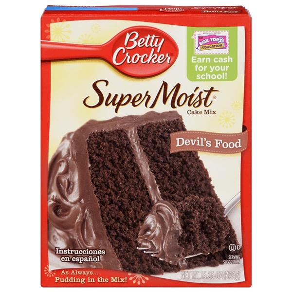 Betty Crocker Supermoist Cake Mixes