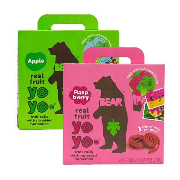 Bear Yoyo Fruit Roll Multipacks