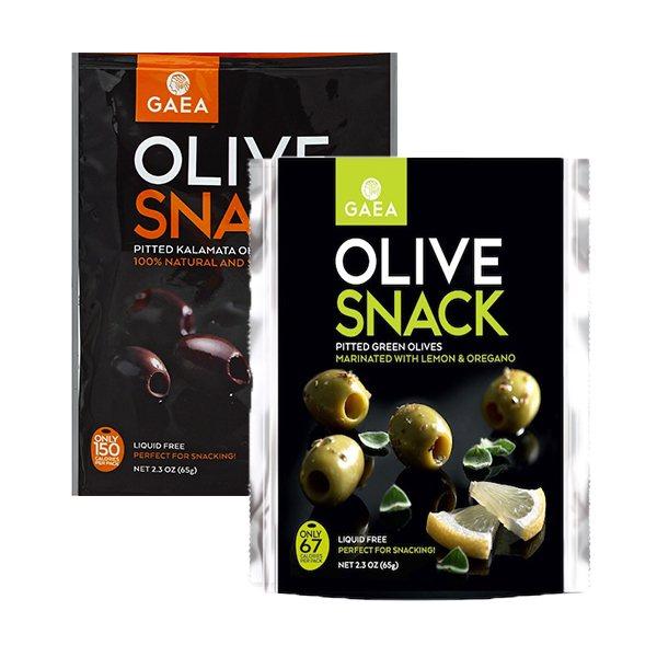 Gaea North America Olive Snack Packs