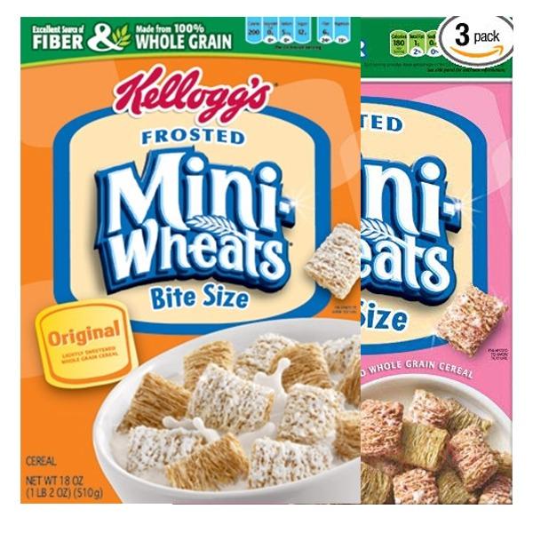 Kellogg's Bite Size Frosted Mini Wheats