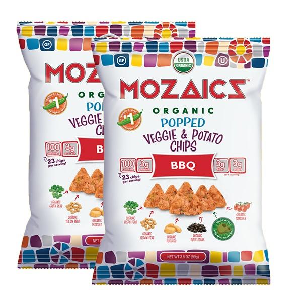 Mozaics Organic Popped Chips