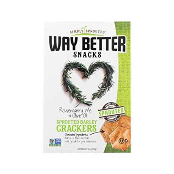 Way Better Snacks Crackers