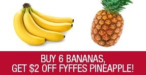 Get $2 Off Fyffes Pineapple