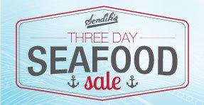 Sendik's Seafood Sale