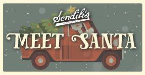 Meet Santa at Sendik's!