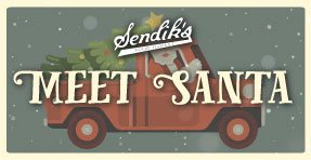 Meet Santa at Sendik's!