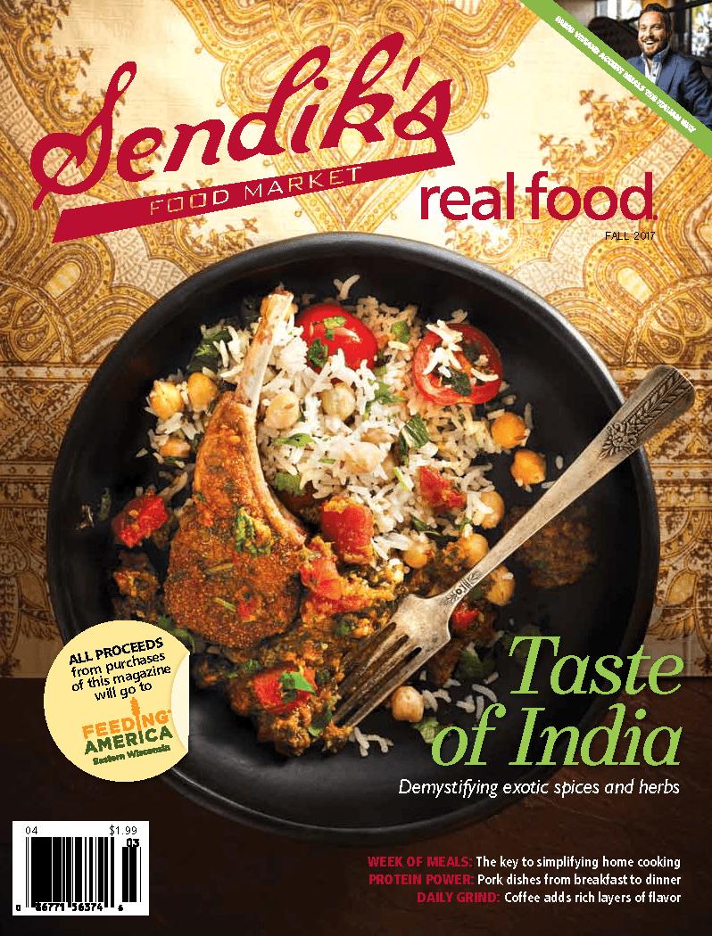 Sendik's Real Food Fall Cover