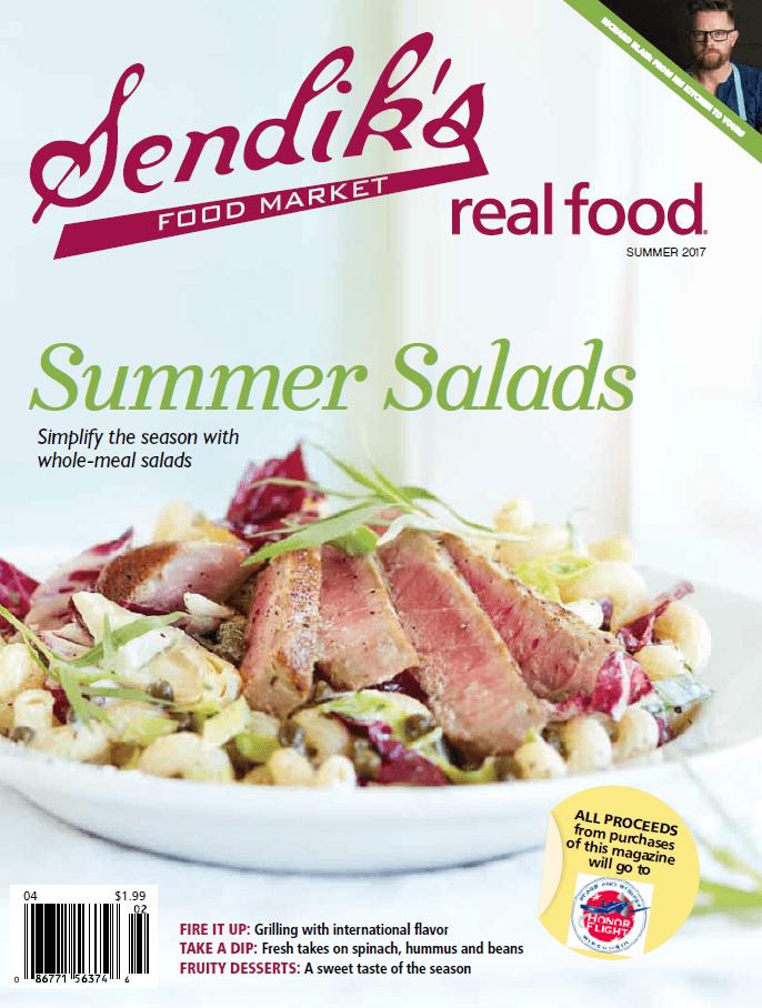 Sendik's Real Food Summer Cover