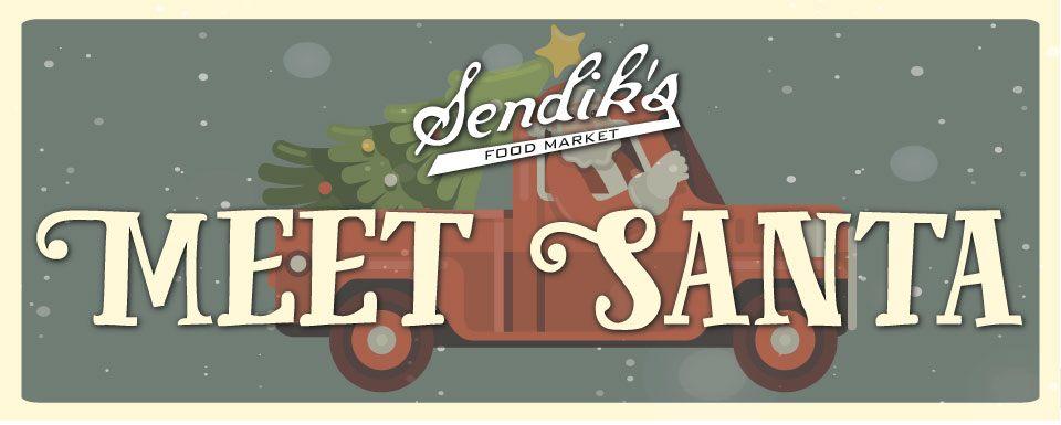 Meet Santa at Sendik's