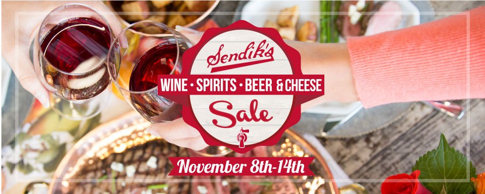 Sendik's Wine, Spirits, Beer & Cheese Sale