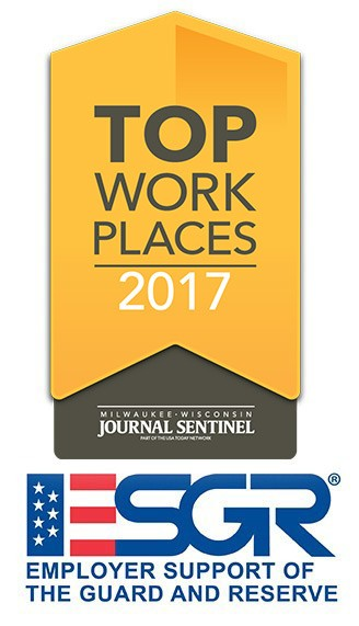 2017 Top Workplaces and Benefit Award