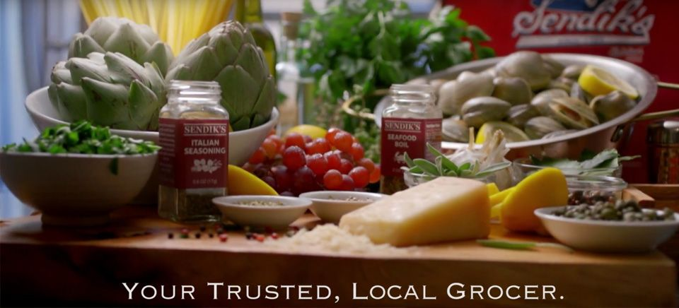 commerical-banner - your trusted, local grocer.