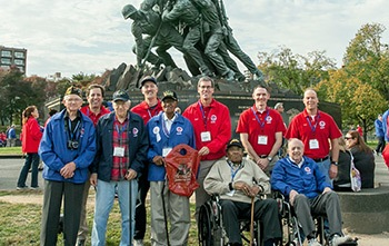 Stars and Stripes Honor Flight