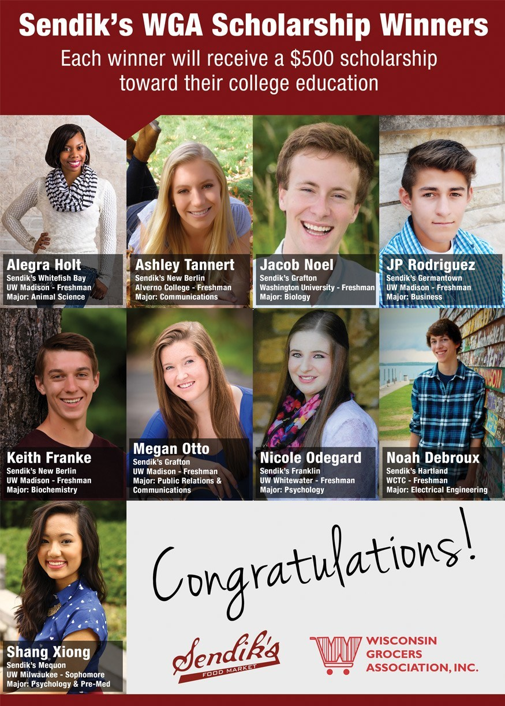 2015 WGA Scholarship Winners