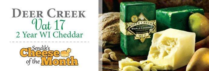Deer Creek Cheddar Cheese