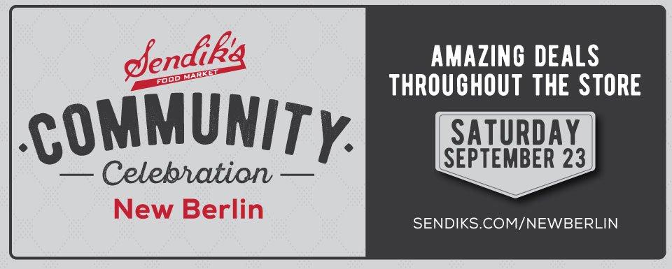 New Berlin Community Celebration Sale