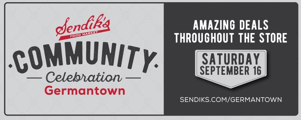 Germantown Community Celebration Sale September 16th
