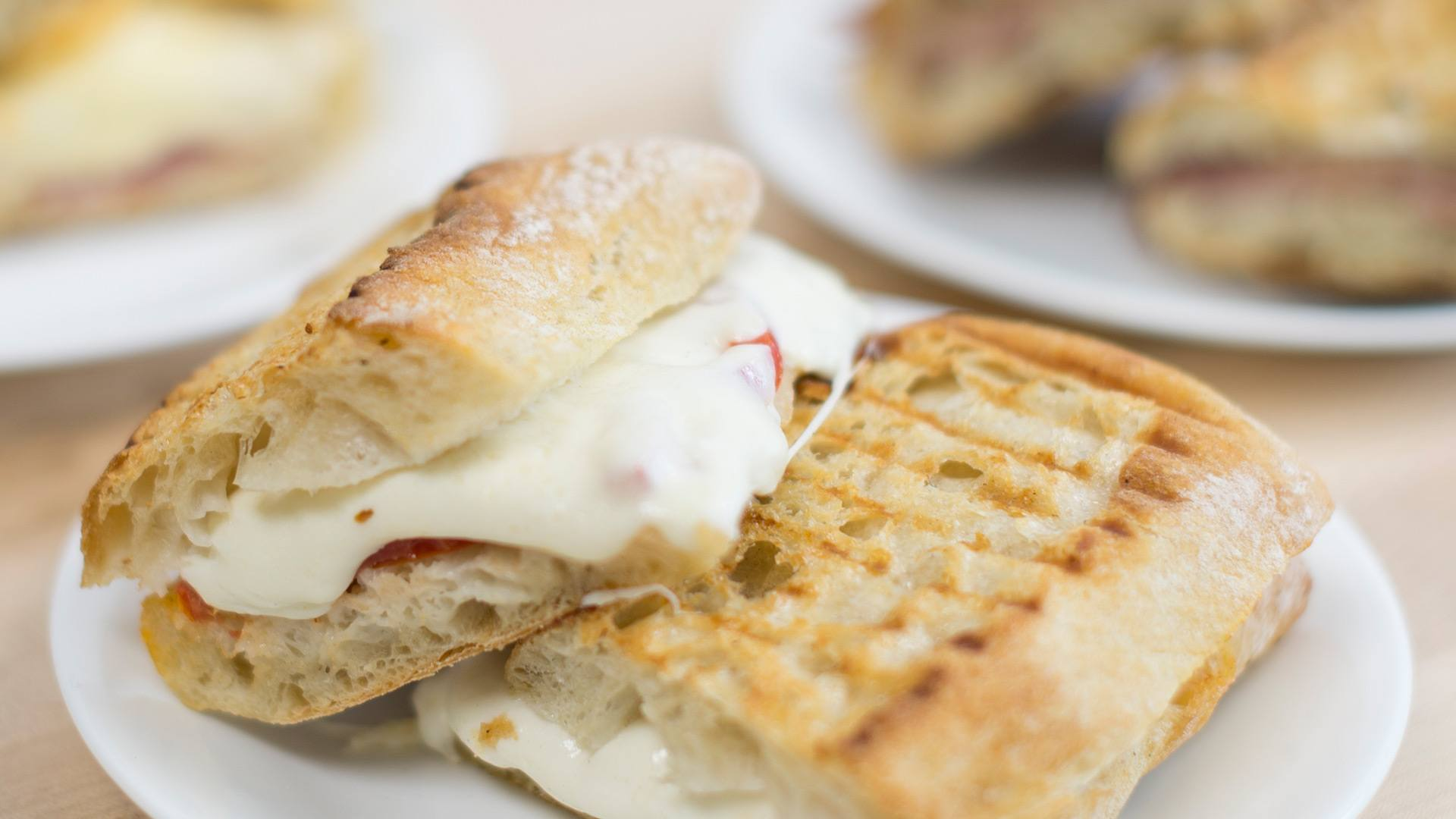 Grilled-to-order Paninis