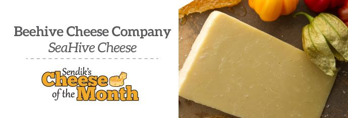 October Cheese of the Month - Beehive Cheese Company: SeaHive Cheese