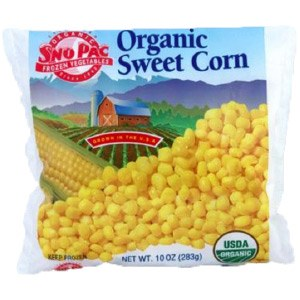 Sno Pac Organic Vegetables