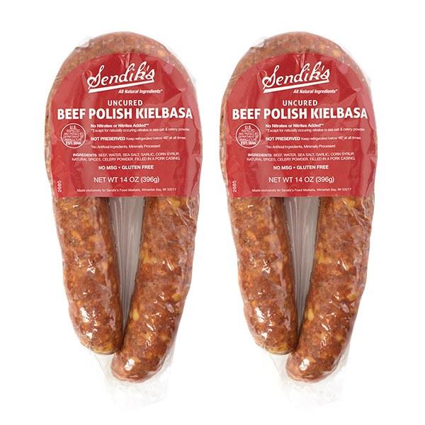 Sendik's All Natural Beef Smoked Polish Kielbasa