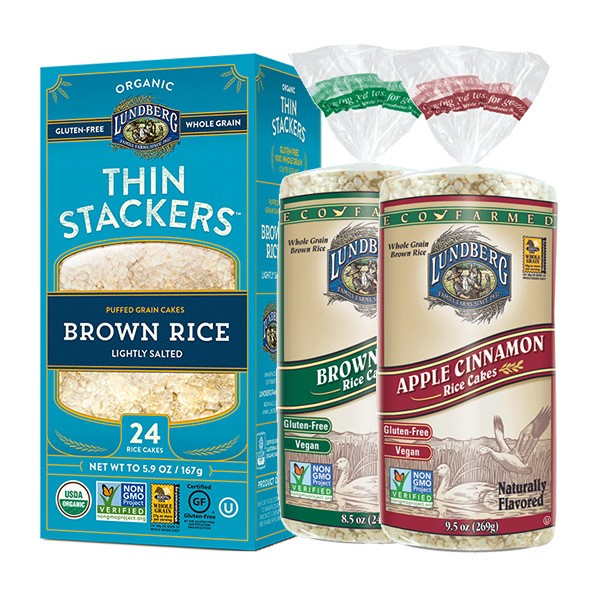 Lundberg Thin Stackers and Rice Cakes