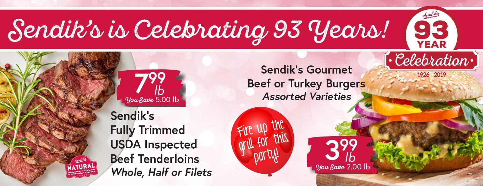 Sendik's is Celebrating 93 Years