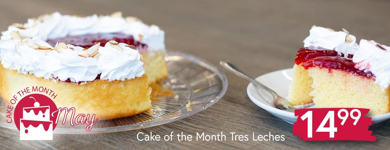 Tres Leches Cake $14.99
