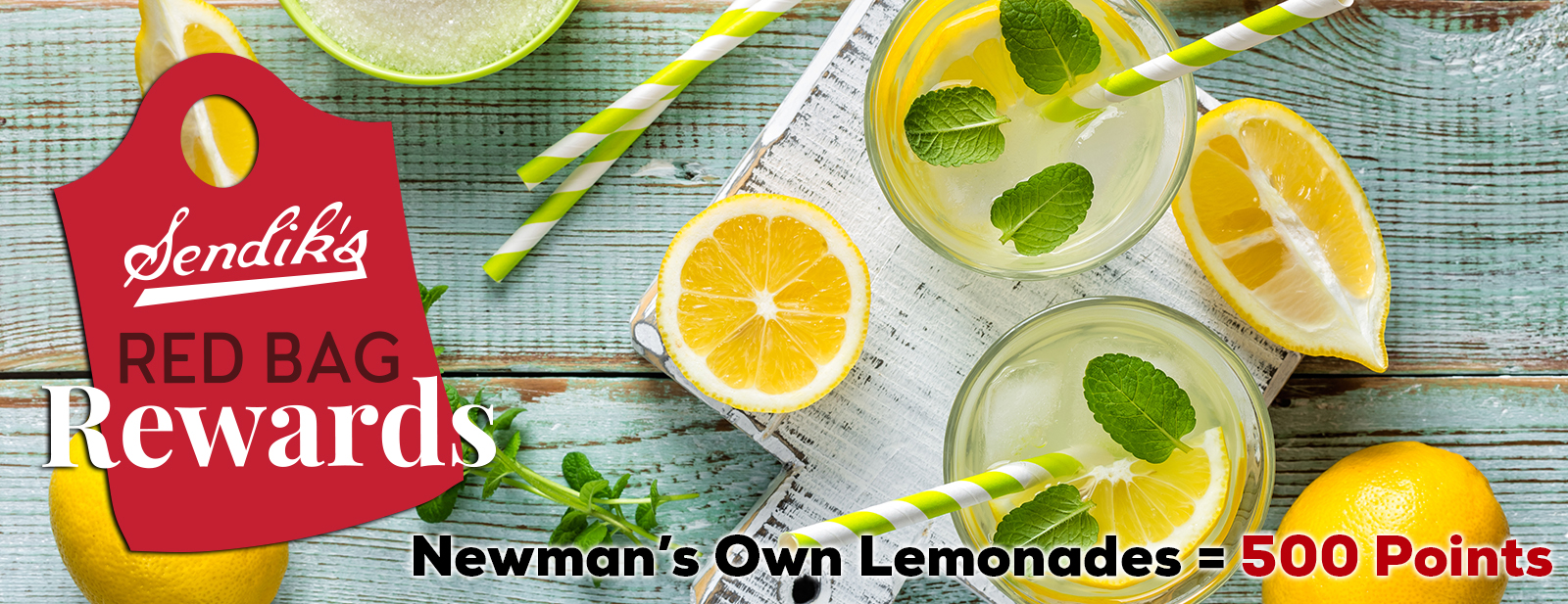 Newman's Own Lemonades 500 Points