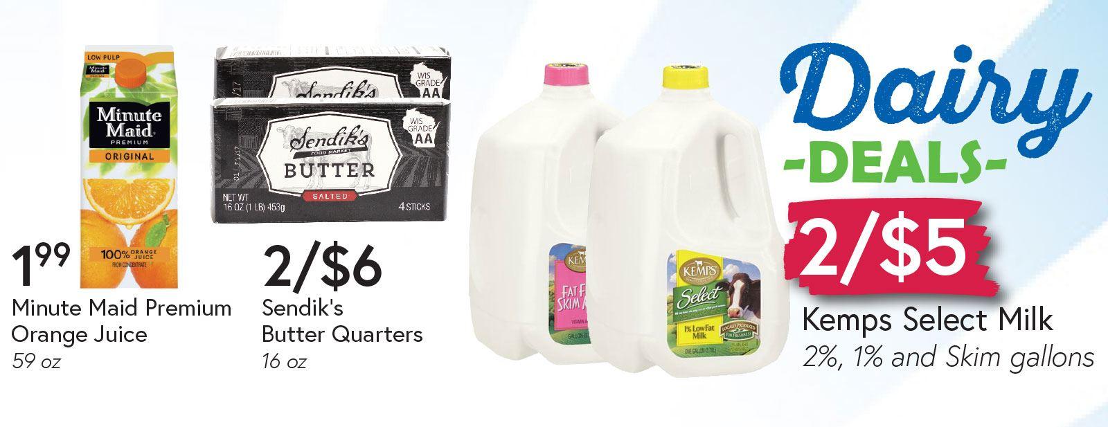 Dairy Deals