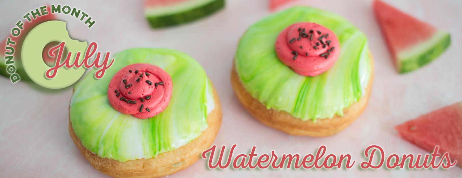 Watermelon Donut