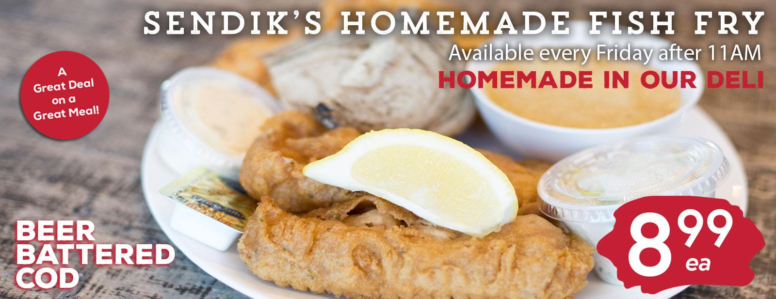 Sendik's Homemade Fish Fry