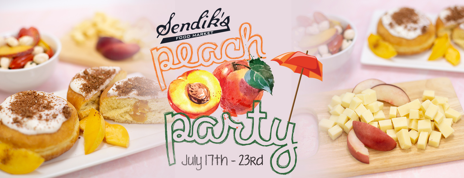 Peach Party July 17 - July 23