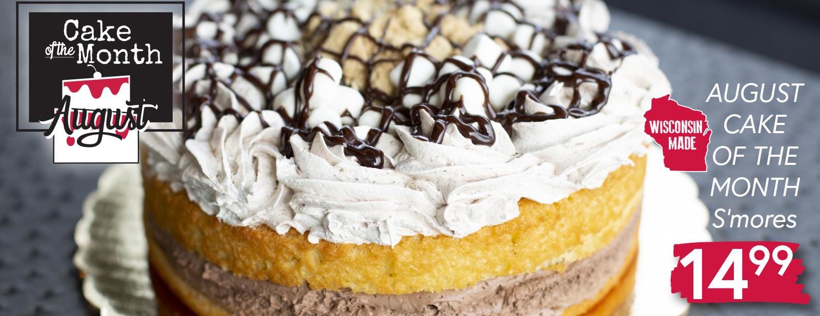 S'mores Cake $14.99