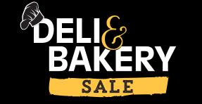 Deli & Bakery Sale