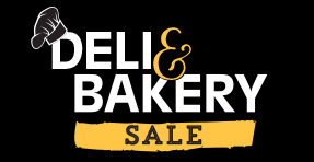 Deli & Bakery Sale