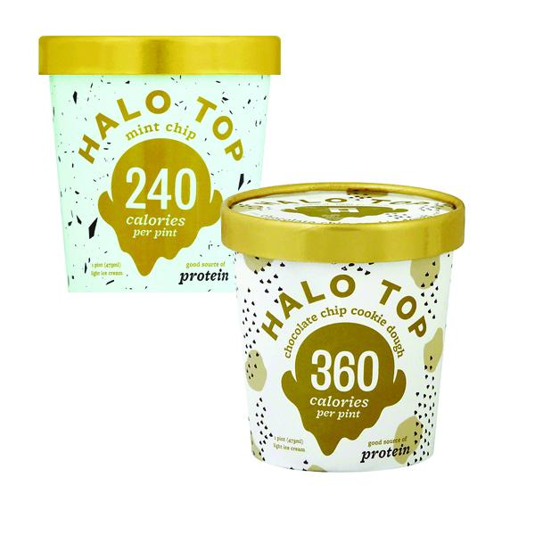 Two (2) Halo Top Ice Creams