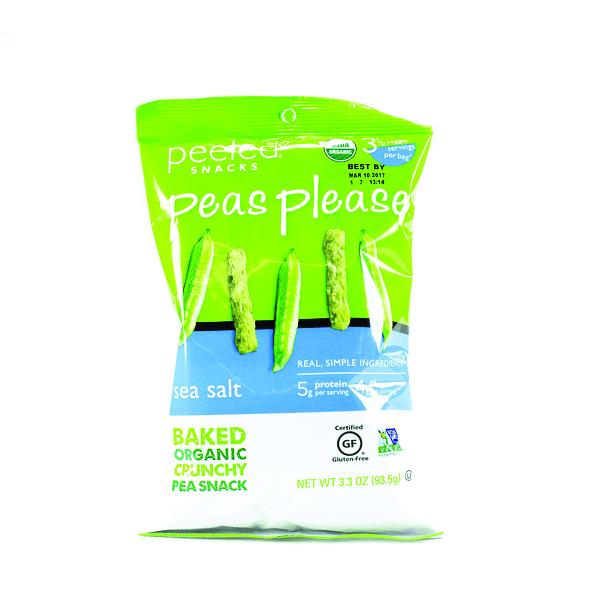 Peeled Peas Please Crunchy Pea Snacks